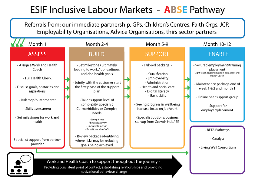 Thrive Into Work ABSE Pathway