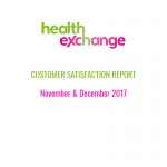 Customer Satisfaction Report - November & December 2017