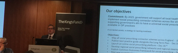 Round Up: The King's Fund 'Social Prescribing: Coming of Age'